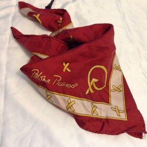 PALOMA PICASSO - silk Italian scarf
